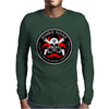 Biohazard Zombie Squad 4 Ring Patch outlined 2 9 Mens Long Sleeve T-Shirt