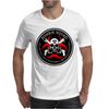 Biohazard Zombie Squad 4 Ring Patch outlined 2 9 Mens T-Shirt