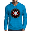 Biohazard Zombie Squad 4 Ring Patch outlined 9 Mens Hoodie