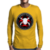 Biohazard Zombie Squad 4 Ring Patch outlined 9 Mens Long Sleeve T-Shirt