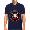 Biohazard Zombie Squad 4 Ring Patch outlined 9 Mens Polo