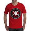 Biohazard Zombie Squad 4 Ring Patch outlined 9 Mens T-Shirt