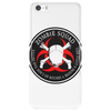 Biohazard Zombie Squad 4 Ring Patch outlined 9 Phone Case