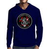 Biohazard Zombie Squad Always aim for the head F U Ring Patch outlined 2 9 Mens Hoodie