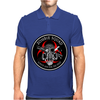 Biohazard Zombie Squad Always aim for the head F U Ring Patch outlined 2 9 Mens Polo