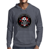 Biohazard Zombie Squad Always aim for the head F U Ring Patch outlined Mens Hoodie