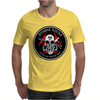 Biohazard Zombie Squad Always aim for the head F U Ring Patch outlined Mens T-Shirt