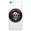 Biohazard Zombie Squad Always aim for the head F U Ring Patch outlined Phone Case