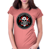 Biohazard Zombie Squad Always aim for the head F U Ring Patch outlined Womens Fitted T-Shirt