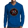 Biohazard Zombie Squad Always aim for the head Ring Patch outlined 2 Mens Hoodie