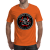 Biohazard Zombie Squad Always aim for the head Ring Patch outlined 2 Mens T-Shirt