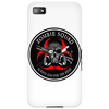 Biohazard Zombie Squad Always aim for the head Ring Patch outlined 2 Phone Case