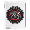 Biohazard Zombie Squad Always aim for the head Ring Patch outlined 2 Tablet (vertical)