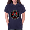 Biohazard Zombie Squad Always aim for the head Ring Patch outlined 2 Womens Polo