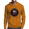 Biohazard Zombie Squad Always aim for the head Ring Patch outlined Mens Hoodie