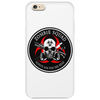 Biohazard Zombie Squad Always aim for the head Ring Patch outlined Phone Case