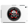 Biohazard Zombie Squad Always aim for the head Ring Patch outlined Tablet (horizontal)