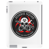 Biohazard Zombie Squad Always aim for the head Ring Patch outlined Tablet (vertical)