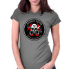 Biohazard Zombie Squad Always aim for the head Ring Patch outlined Womens Fitted T-Shirt