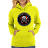Biohazard Zombie Squad Always aim for the head Ring Patch outlined Womens Hoodie