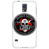Biohazard Zombie Squad Fuck U Ring Patch outlined L Phone Case
