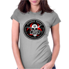 Biohazard Zombie Squad Fuck U Ring Patch outlined L Womens Fitted T-Shirt