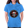 Biohazard Zombie Squad Fuck U Ring Patch outlined L Womens Polo