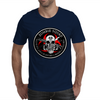 Biohazard Zombie Squad Fuck U Ring Patch outlined Mens T-Shirt