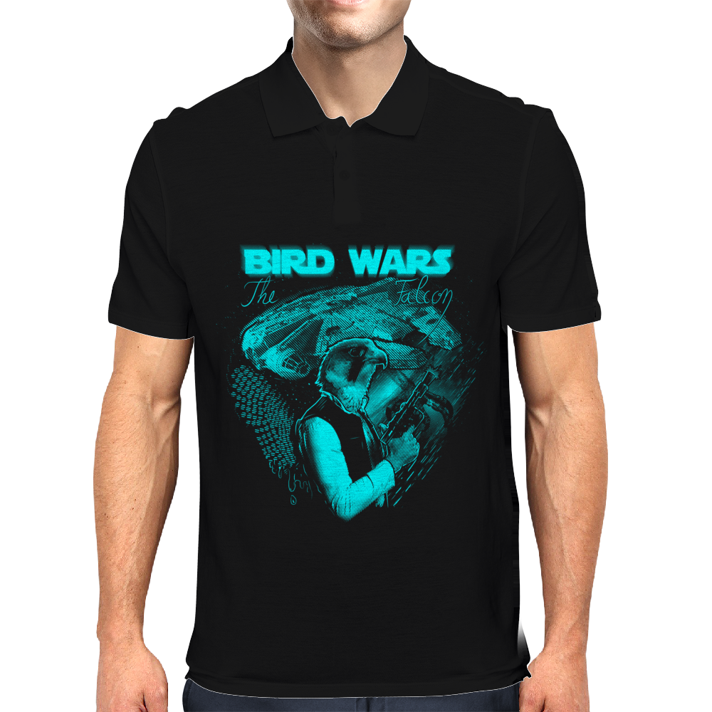 Bird Wars Mens Polo