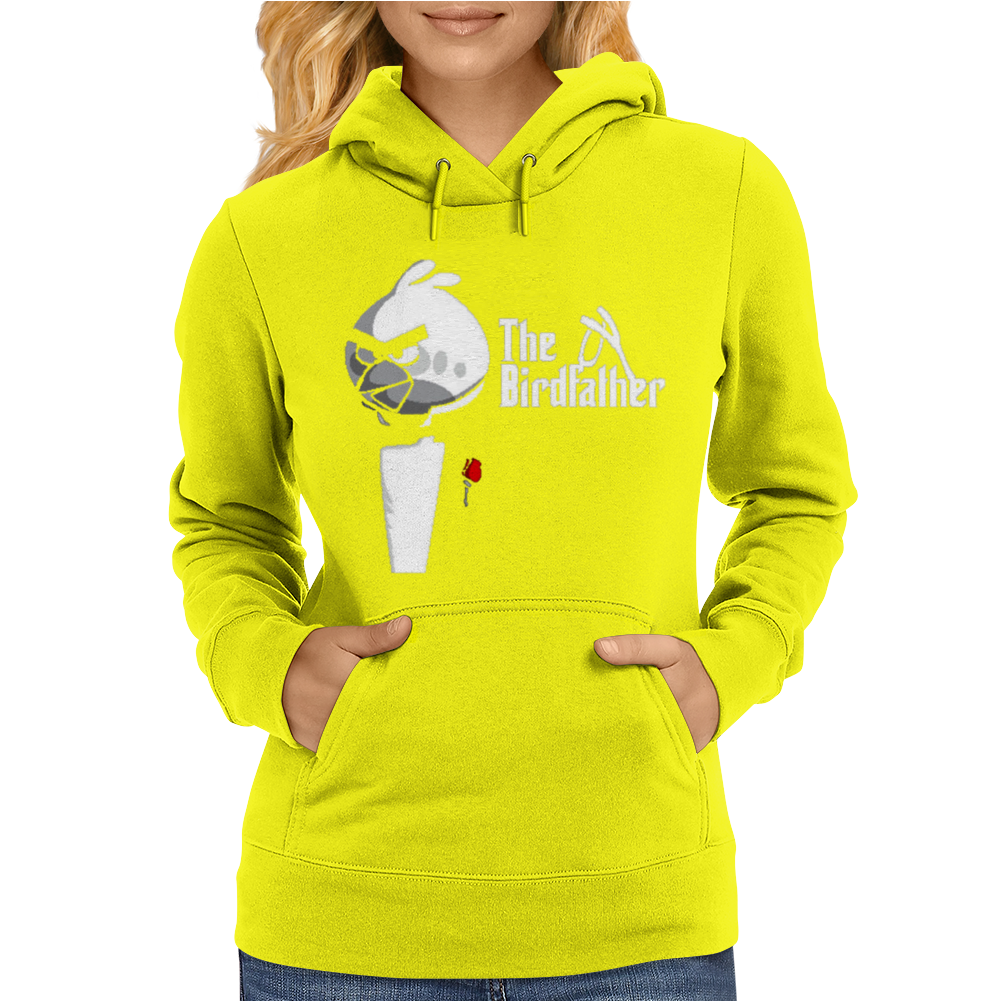 Birdfather Angry Birds Godfather Parody Womens Hoodie