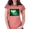 Birds Feeding Womens Fitted T-Shirt