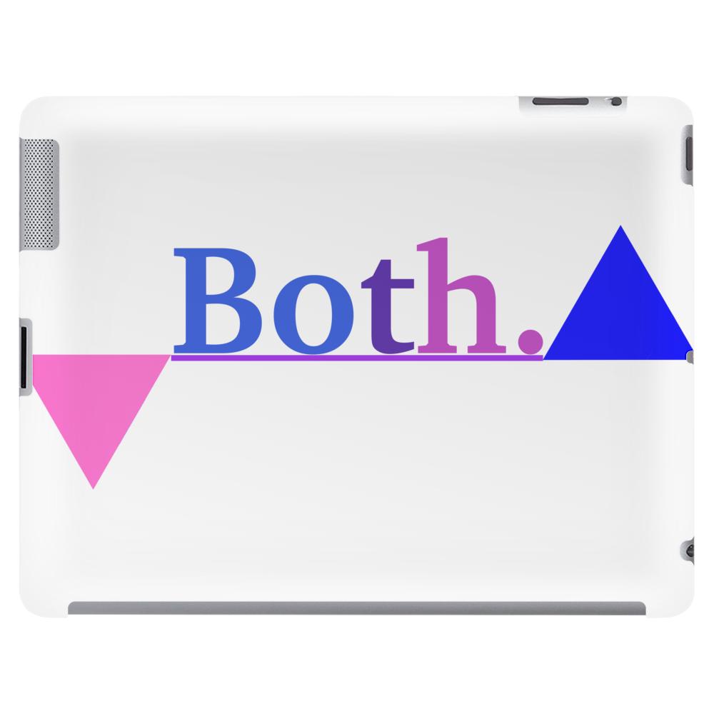 Bisexual Multi Color--Triangles Tablet