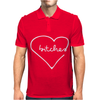 Bitches Heart Mens Polo