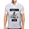 Bitcoin Rich Money Mens Polo
