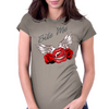 Bite me Vampkiss Wings 2 Womens Fitted T-Shirt