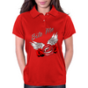 Bite me Vampkiss Wings 2 Womens Polo