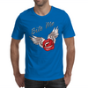 Bite me Vampkiss Wings Mens T-Shirt