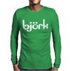 Björk Mens Long Sleeve T-Shirt