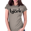 Björk. Womens Fitted T-Shirt