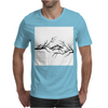 Black and White birds Mens T-Shirt