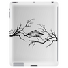 Black and White birds Tablet (vertical)