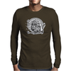 Black and White Catrina (Day of the Dead) Mens Long Sleeve T-Shirt