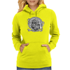 Black and White Catrina (Day of the Dead) Womens Hoodie
