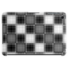 Black and white plaid Tablet (horizontal)