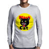Black Cat Fireworks Firecracker Mens Long Sleeve T-Shirt