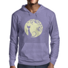 Black cat in the moon Mens Hoodie