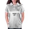 BLACK CAT Womens Polo
