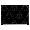 Black Filigree Deathly Hallows Tablet (horizontal)