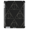 Black Filigree Deathly Hallows Tablet (vertical)