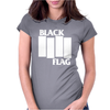 BLACK FLAG new Womens Fitted T-Shirt